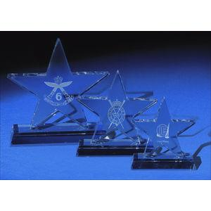 Large Optical Crystal Star Award