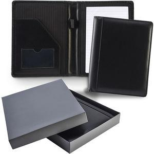 A5 Ascot Leather Conference Folder