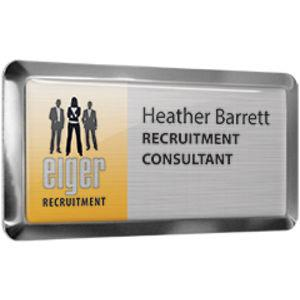 Metal Framed Name Badges