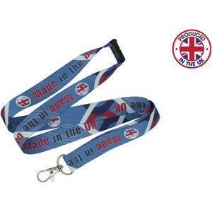 UK 5 Day Dye Sublimation Lanyards