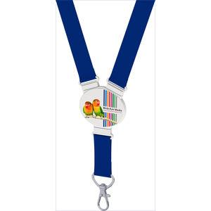 Snap Lanyard - Elliptical Shape