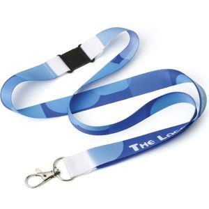UK Printed Dye Sublimation Lanyard