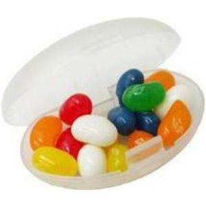 Jelly Beans in Clear Container