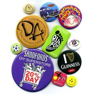 Oblong Button Badge (70mm x 43mm)