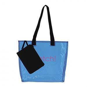 Transparent Shopping Bag | Arcadia Branded Merchandise