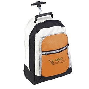Tri-Colour Rolling Backpack