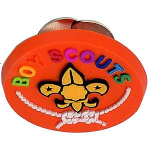 2D soft PVC badge