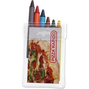 Pack of 6 Colouring Pencils or Crayons