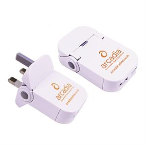 Pokkit Duo USB Charger closed