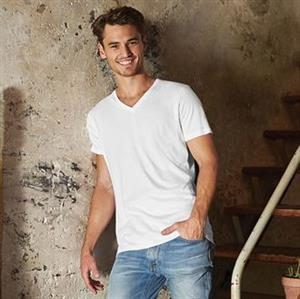 B & C Organic Men's V-Neck T-Shirt