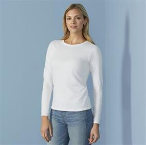 Gildan Softstyle Women's Long Sleeved T-Shirt.