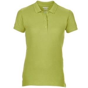 Gildan Premium Cotton Ladies' Double Pique Poloshirt.