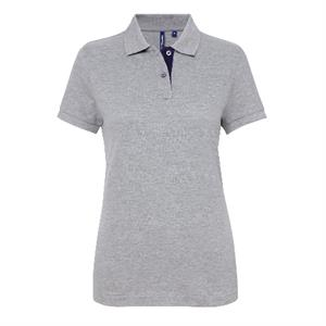 Asquith & Fox Women's Contrast Poloshirt