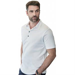 Teejays Men's Pima Cotton Poloshirt