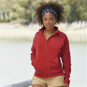Fruit of the Loom Lady Fit Full Zip Fleece