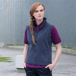 Henbury Women's Sleeveless Microfleece Jacket