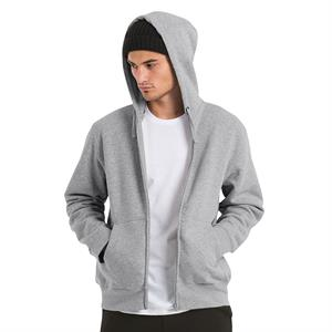 B&C Men's Hooded Full Zip