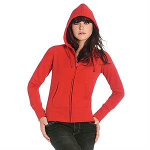 B&C Ladies' Hooded Full Zip