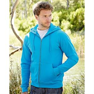 Fruit of the Loom Classic 80/20 Hooded Sweatshirt Jacket