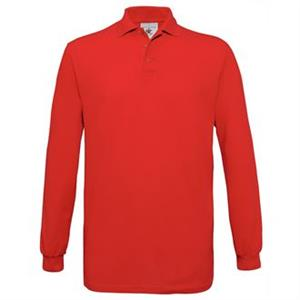 B&C Safran Long Sleeved Poloshirt