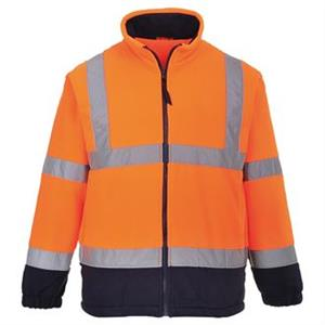 Portwest Hi Vis Mesh Lined Fleece