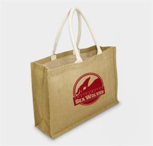 Large York Jute Bag