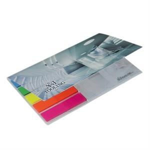 Bic Adhesive Notepad with Flag Booklet