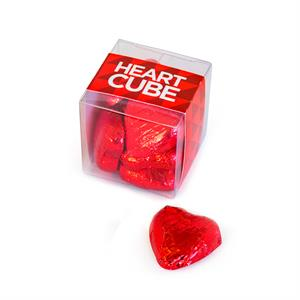 Valentine Heart Chocolate Cube