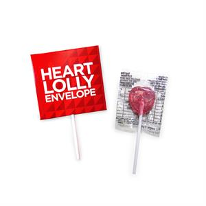 Heart Lolly Envelope