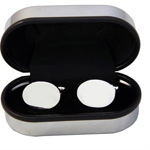 Cufflinks in Chrome Box