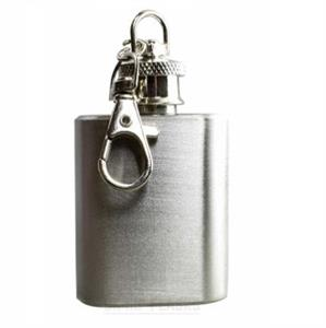 Mini Hip Flask Keyring