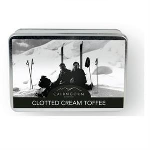 Oblong Tin of Clotted Cream Toffee