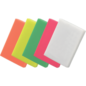 Colourful Erasers