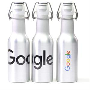 Brushed Aluminium Drinks Bottle