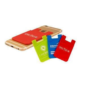 Silicon Phone Wallet