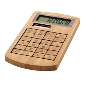 Bamboo Solar Powered Calculator