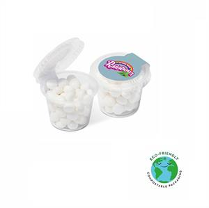 Mini Eco Pot Of Rainbow Mints