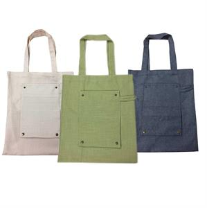 Hemp Fold Up Shopper 42 x 38 cms