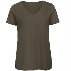B&C Organic Women's V-Neck T-Shirt