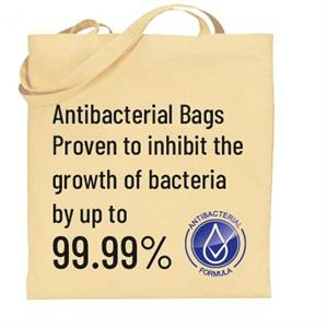 5oz Natural Anti Bacterial Shopper