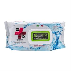 120 Pack Sanitising Surface Wipes