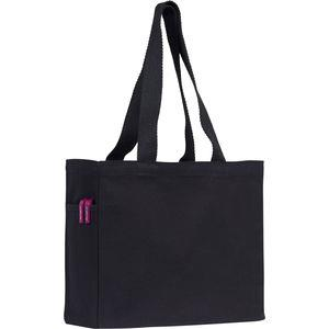 Cranbrook 10oz Black Cotton Canvas Tote