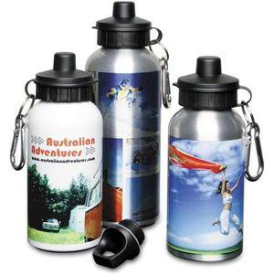 Aluminium Sports Bottles 600ml  - Aluminium