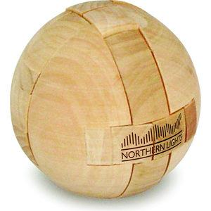 Puzzle Ball In Wood.