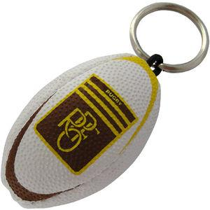 Rugby Ball Key-Ring - Sythetic PU
