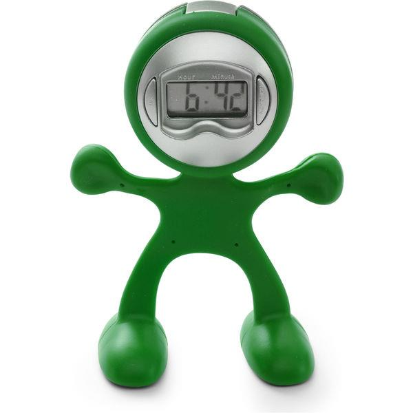 Flexi Man Alarm Clock.
