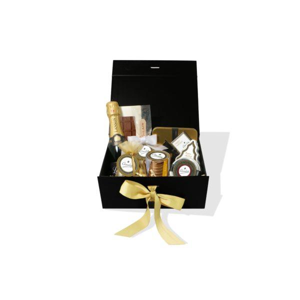 Midi Luxury Chocolate Gift Box with Mini Champagne
