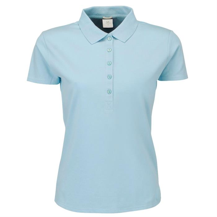 Teejays Ladies' Luxury Stretch Poloshirt