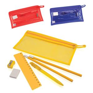 Pencil Case with Stationery Set