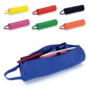 Tubular Zipped Pencil Case
